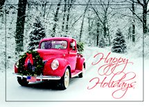 Santa's Ride Holiday Cards